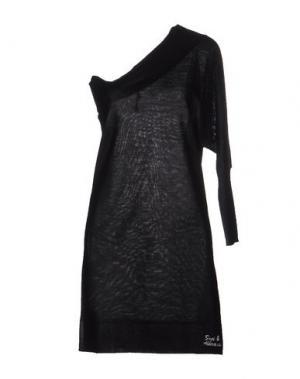 Короткое платье BACI & ABBRACCI. Цвет: черный