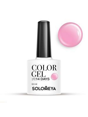 Гель-лак Color Gel Тон Delia SCG045/Делия SOLOMEYA. Цвет: бледно-розовый