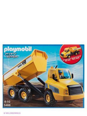 Стройка Промышленный самосвал Playmobil. Цвет: желтый