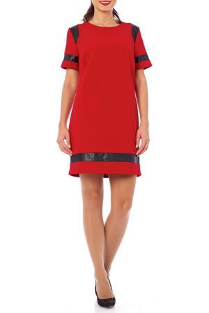 Платье 4 Lilou. Цвет: красный