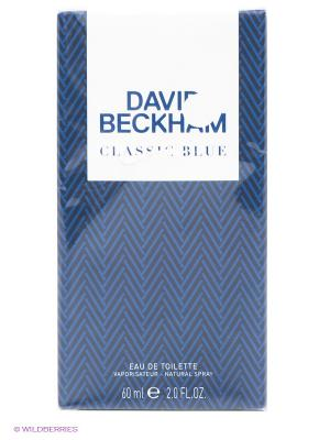 Туалетная вода David Beckham Classic Blue, 60 мл. Цвет: прозрачный