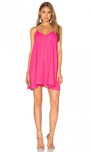 Платье-майка Lucca Couture. Цвет: розовый