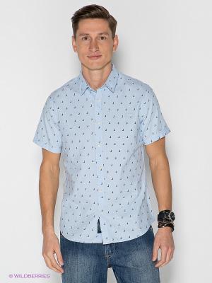 Рубашка LEE COOPER. Цвет: синий, голубой