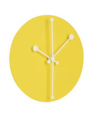 Настенные часы ALESSI. Цвет: желтый
