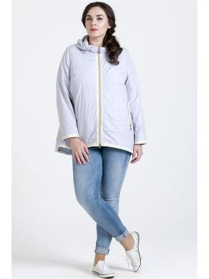 Куртка Modress. Цвет: серый,светло-серый