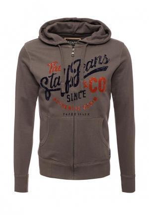 Толстовка Staff Jeans & Co.. Цвет: коричневый
