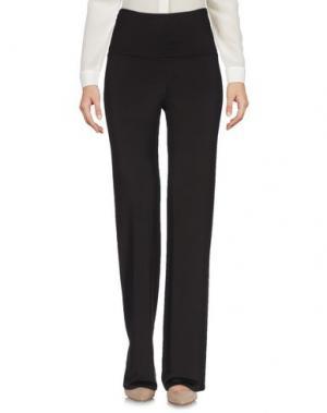 Повседневные брюки 1-ONE. Цвет: темно-коричневый