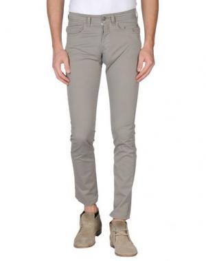 Повседневные брюки SIVIGLIA. Цвет: серый