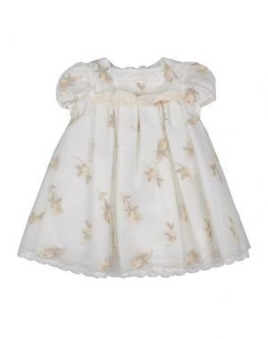 Платье I PINCO PALLINO I&S CAVALLERI. Цвет: слоновая кость