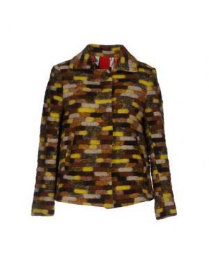 Куртка FEMME by MICHELE ROSSI. Цвет: желтый