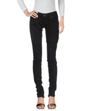 Джинсовые брюки IF SIX WAS NINE. Цвет: черный