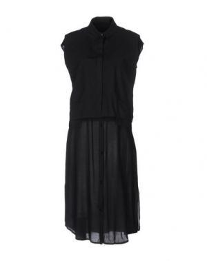 Платье до колена SILENT DAMIR DOMA. Цвет: черный