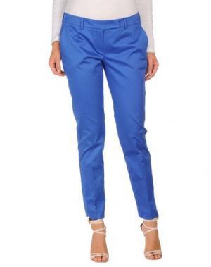 Повседневные брюки HOPE COLLECTION. Цвет: синий
