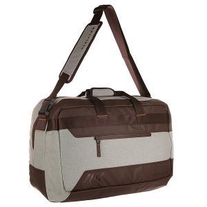 Сумка спортивная  Halifax Weekender Dark Sienna Oakley. Цвет: коричневый,серый