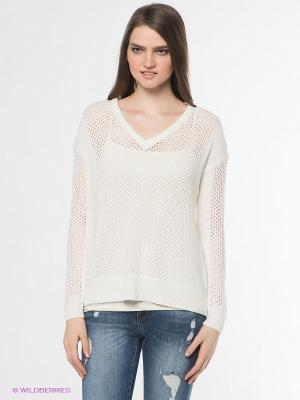 Пуловер Vero moda. Цвет: молочный
