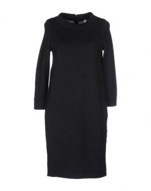 Короткое платье WETPAINT. Цвет: стальной серый