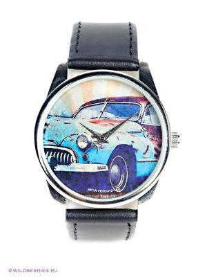 Часы Mitya Veselkov. Цвет: черный, голубой