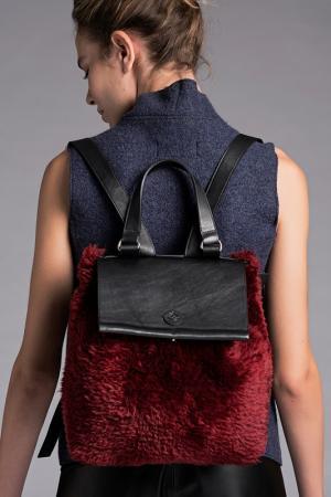 Рюкзак VESPUCCI BY VSP. Цвет: red, black