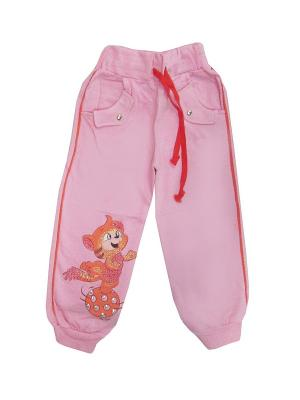 Брюки LilyKids. Цвет: розовый