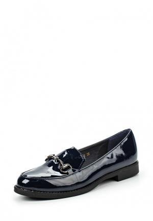 Лоферы WS Shoes. Цвет: синий