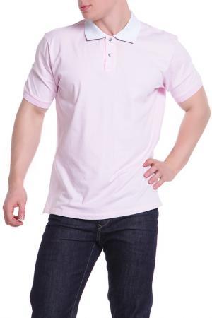 Поло Karl Lagerfeld. Цвет: розовый