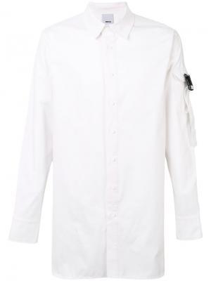 Рубашка с лямками D.Gnak. Цвет: белый