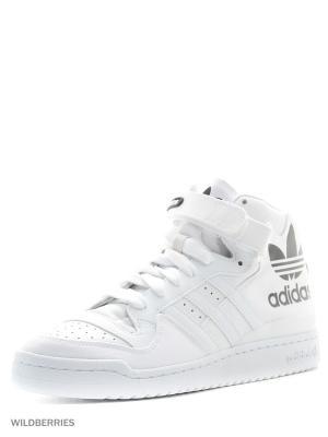 Кроссовки FORUM MID RS XL Adidas. Цвет: белый
