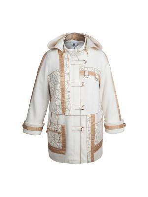 Пальто KR. Цвет: кремовый