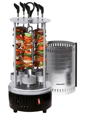 Шашлычница REDMOND RBQ-0252, 900 Вт. Цвет: серебристый