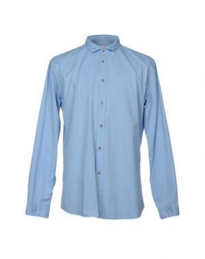 Pубашка ..,BEAUCOUP. Цвет: небесно-голубой