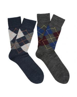 Короткие носки BURLINGTON. Цвет: грифельно-синий