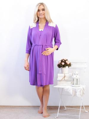 Комплект одежды Адель. Цвет: сиреневый