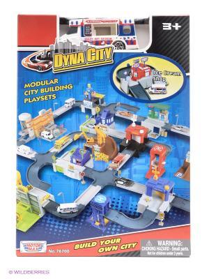 Набор Dyna city Магазин мороженого Motormax. Цвет: синий