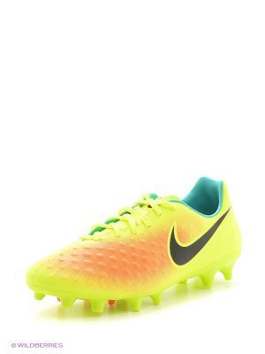 Бутсы MAGISTA ONDA II FG Nike. Цвет: желтый, черный