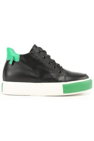Ботинки NURIA. Цвет: черный, зеленый