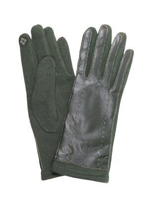 Перчатки Migura. Цвет: зеленый