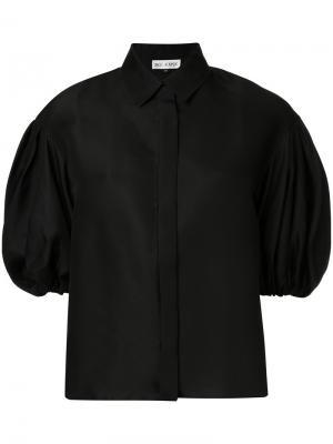 Блузка с рукавами-фонарик Dice Kayek. Цвет: чёрный