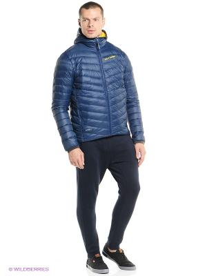 Куртка VERGLAS HOODED DOWN INSULATOR Helly Hansen. Цвет: синий