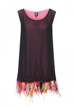 Платье Tricot Chic. Цвет: черный