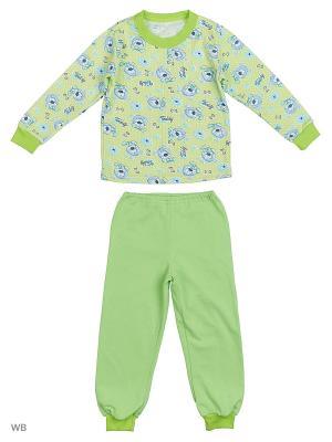 Пижама KIDONLY. Цвет: салатовый, светло-голубой