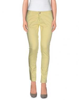 Повседневные брюки MICHAEL COAL. Цвет: желтый