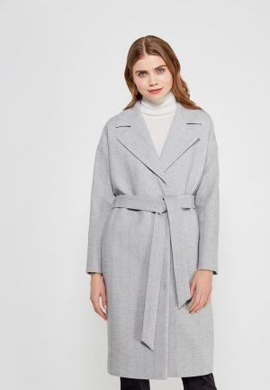 Пальто Ruxara. Цвет: серый
