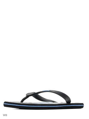 Шлепанцы Effa. Цвет: черный, синий