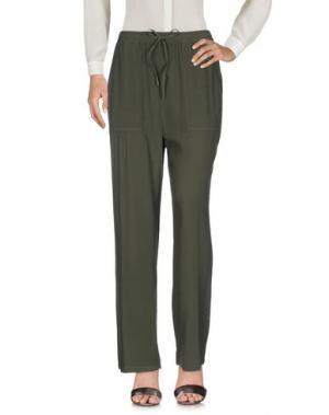 Повседневные брюки 19.70 NINETEEN SEVENTY. Цвет: темно-зеленый