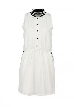 Платье Zalora. Цвет: белый