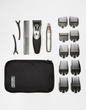 Wahl Машинка для стрижки волос и личный триммер Clip & Rinse. Цвет: мульти