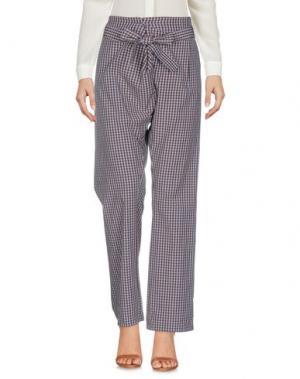 Повседневные брюки LAURÈT. Цвет: темно-коричневый