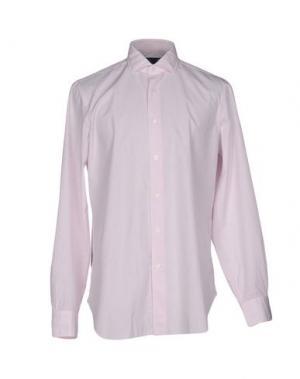 Pубашка DANDYLIFE by BARBA. Цвет: розовый