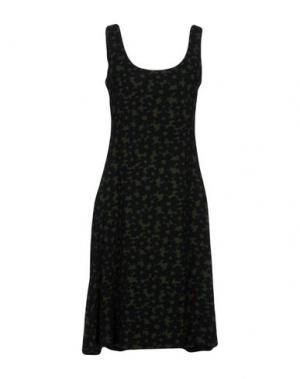 Короткое платье SIYU. Цвет: черный
