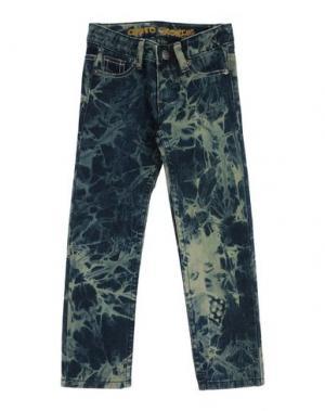Джинсовые брюки CUSTO GROWING. Цвет: синий